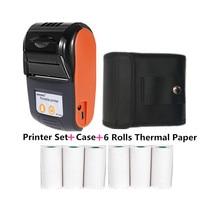 Printers Receipt Supermarket Thermal-Paper Bluetooth4.0 Portable Goojprt 58mm USB