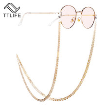 TTLIFE Leaf Anti-Slip Glasses Chain Lanyard Accessories Strap Necklace Eyeglass Hain Cord For Reading Women YJHH0287