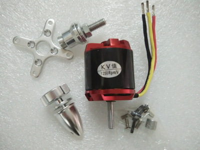 surpass GoolRC 3542 1250KV <font><b>1450kv</b></font> Outrunner Brushless Motor for RC Airplane Fixed-wing EDF Ducted Fan Unit image
