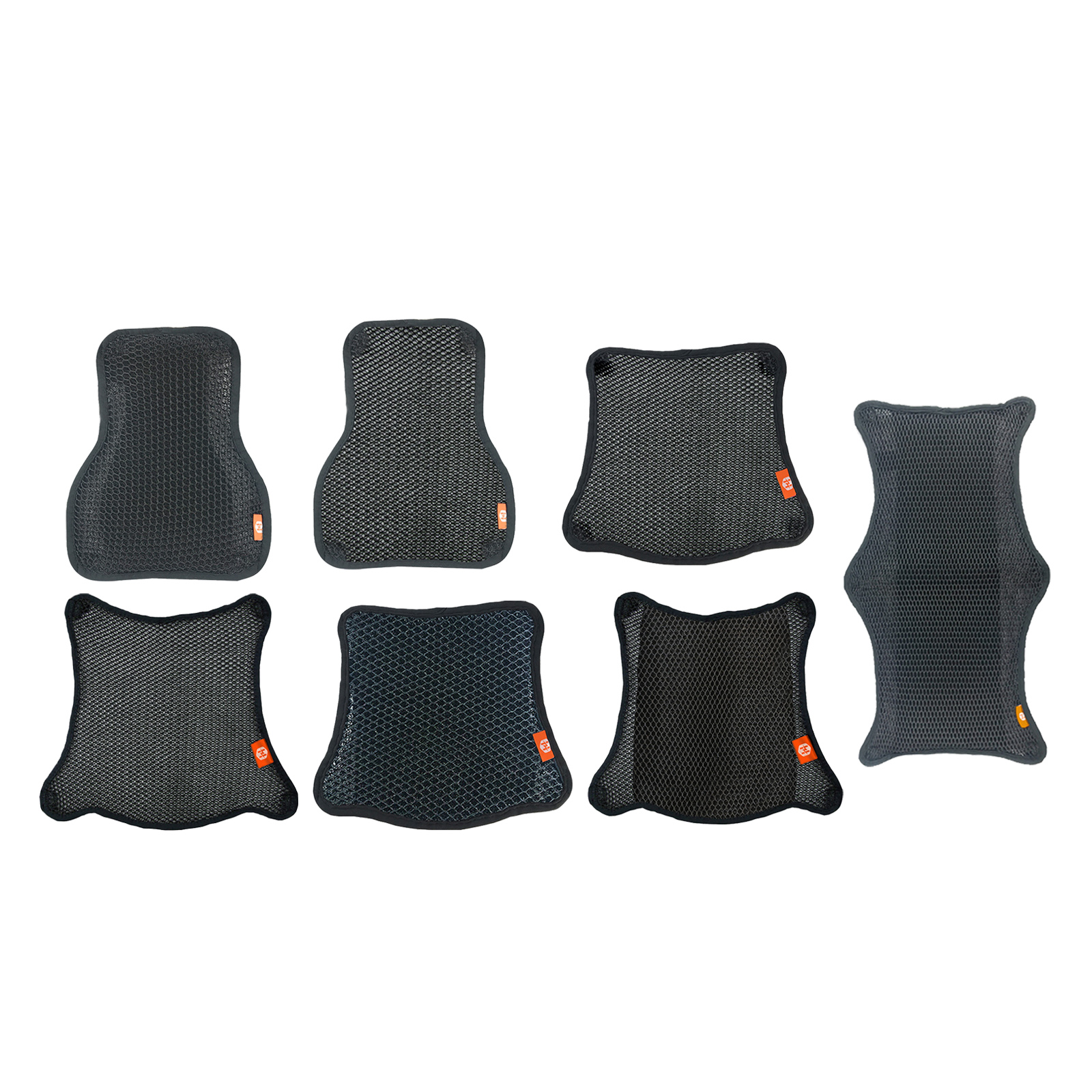 Summer Motorcycle Seat Cushion Breathable Cover Makes Long Rides More Comfortable Fits Most Seats of Sport Touring