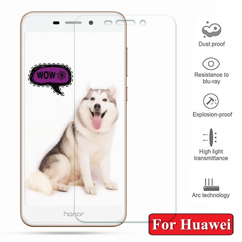 Tempered Glass For Huawei Honor 7A 6C Pro 6X 6A 7X 7C Screen Protector For Honor V9 View 10 8 9 Lite 8X Toughened Protective