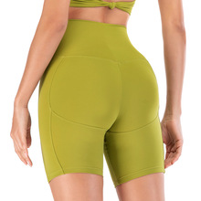 цена на Fitness workout women yoga shorts summer High waist sexy yoga leggings sport shorts Running slim skinny gym tight shorts