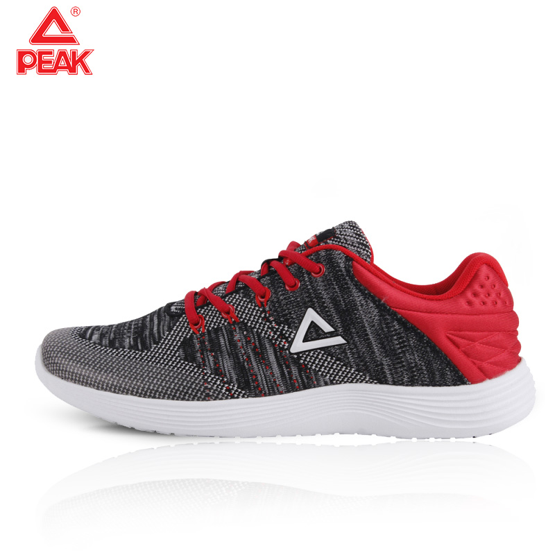 PEAK Outdoor Non-slip Jogging Training Shoes Men Running Culture Training Shoes Breathable Lightweight Comfortable Running Shoes