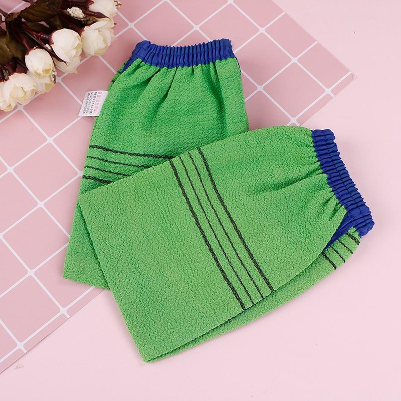Корейская искусственная кожа, отшелушивающая перчатка для удаления загара, щетки для ванны, перчатки для ванны, губчатое полотенце