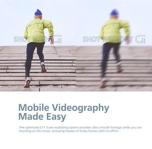 Image 3 - ZHIYUN CINEPEER C11 Gimbal гидростабилизатор на шарнирном замке с 3 ручной шарнирный стабилизатор для камеры GoPro карданный стабилизатор для камеры для iPhone/Samsung/Xiaomi