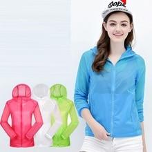 Женская куртка для гольфа с защитой от солнца и УФ-лучей, куртка с капюшоном и длинным рукавом, пальто для девушек на открытом воздухе, водонепроницаемые спортивные пальто D0688