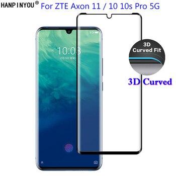 Перейти на Алиэкспресс и купить Для ZTE Axon 11 5G / Axon 10 10s Pro 5G 6,47 дюйм3D полное покрытие изогнутое закаленное стекло 9H Премиум Защитная пленка для экрана