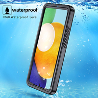 Funda de teléfono impermeable IP68 para Samsung Galaxy S20 FE, a prueba de golpes, a prueba de agua, protección completa para Samsung A72