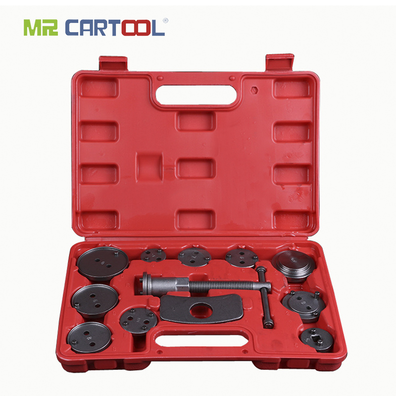 MR CARTOOL 13pcs Universal Auto Car Precision Disc Brake Sub-pump Adjuster Brake Piston Return Special Car Repair Special Tools