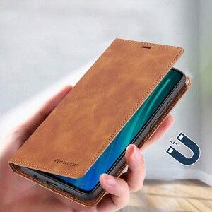 Кожаный магнитный чехол-бумажник для телефона Xiaomi Redmi Note 7 8 Pro, роскошный флип-чехол для Mi Redmi Note8 Note7 Pro Note8pro Global