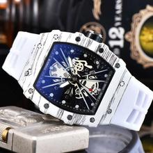 2020Hot Brand Luxury siliconce dz Auto Date Week Display Luminous Diver Watches
