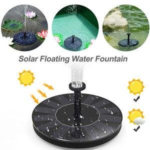 Image 2 - Dropshipping MINI Solar Powered Floating Bird Bath Water Panel Fountain Pump Garden Pond Pool