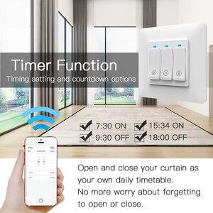 Image 5 - Persiana enrollable inteligente con WiFi, cortina de botones con Control remoto, motorizada, Tuya, Alexa y Google Home