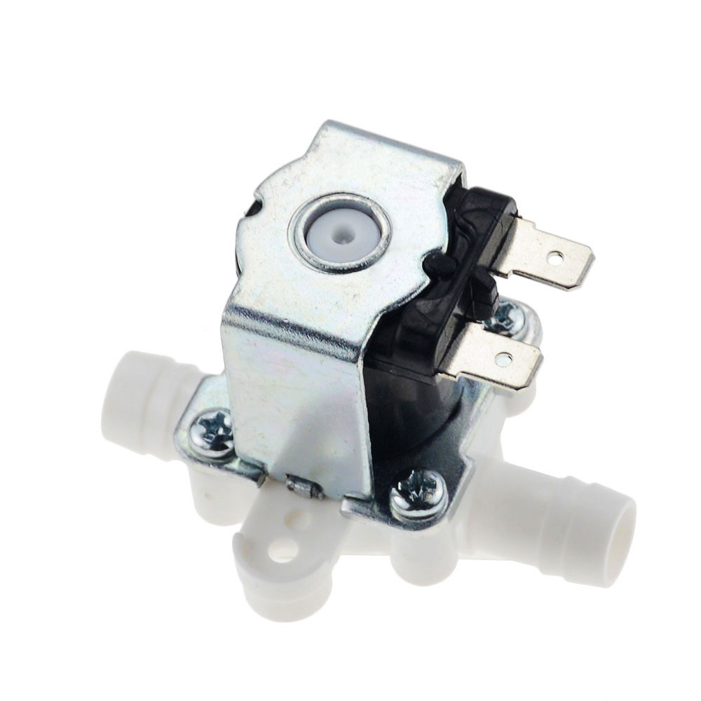 1pc 12/24/36/110/220V Pressurized Solenoid Valve Inlet Valve 10mm For Water Dispenser Water Purifier Plastic Water Valve