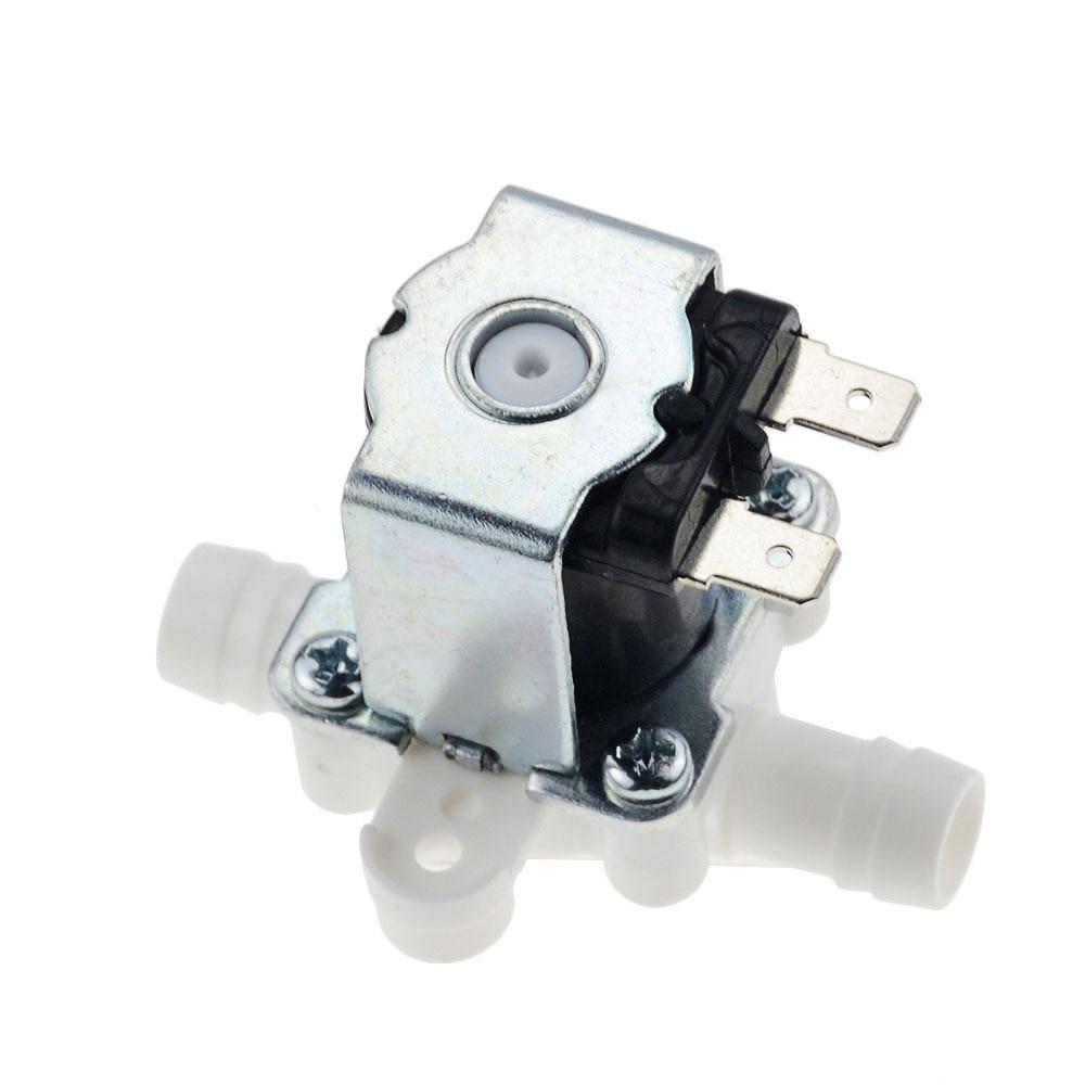 1pc 12/24/36/110/220V Pressurized Solenoid Valve Inlet Valve 10mm For Water Dispenser Water Purifier Plastic Water Valve