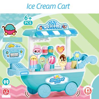 33 sztuk zestaw wózek na lody sok owocowy napój cukierki kuchnia zabawki dla dzieci dom zabaw symulacja owoce udawaj zabawka dla dziecka tanie i dobre opinie Zawodów keep away fire 2-4 lat Chiny certyfikat (3C)