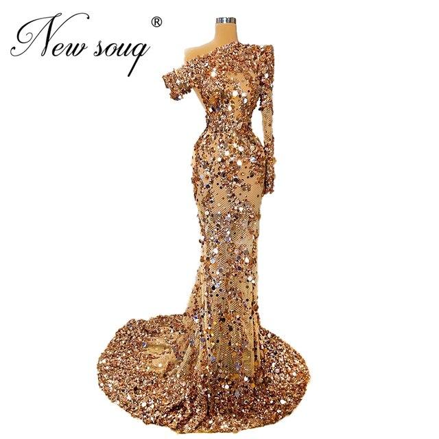 ใหม่ดูไบผู้หญิงที่มีชื่อเสียงชุดชุดราตรี Elegant ดูผ่านแอฟริกันอิสลาม PROM Dresses ชุดราตรี 2020 Robe De Soiree