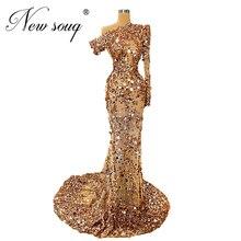 Neue Dubai Frauen Celebrity Kleider Abendkleid Elegante Sehen Durch Afrikanische Islamischen Prom Kleider Party Kleid 2020 Robe De Soiree