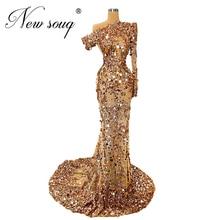 Nowy dubaj kobiety Celebrity suknie wieczorowe eleganckie przepuszczalne afrykańskie islamskie suknie balowe suknia wieczorowa 2020 Robe De Soiree