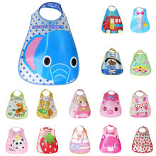 Baby Toddler Kids Boys Girls Waterproof Feeding Apron Saliva Towel Bib Smock cute adjustable baby bibs babero con mangas(China)