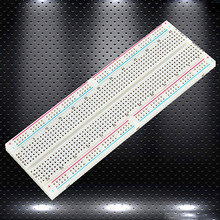 Breadboard 830 Point Solderless PCB Bread Board MB-102 MB102 Test Develop DIY Special Designed Spring Clip Over 5,000 Insertion(China)