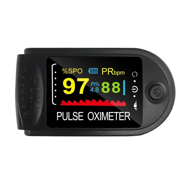 ELERA Oximetro De Dedo Finger Pulse Oximeter Blood Oxygen Saturometro SPO2 PR Oxymeter De Pulso Portable Saturator Pulsioximetro 4