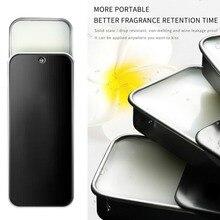 Solid Perfume Portable Fragrances Magic Balm Iron Box Easy T