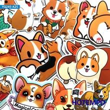 25pcs Cute Corgi Pet Dog Stickers for Children Kids Teacher School Gift DIY Letter Diary Scrapbooking Stationery Pegatinas Decal