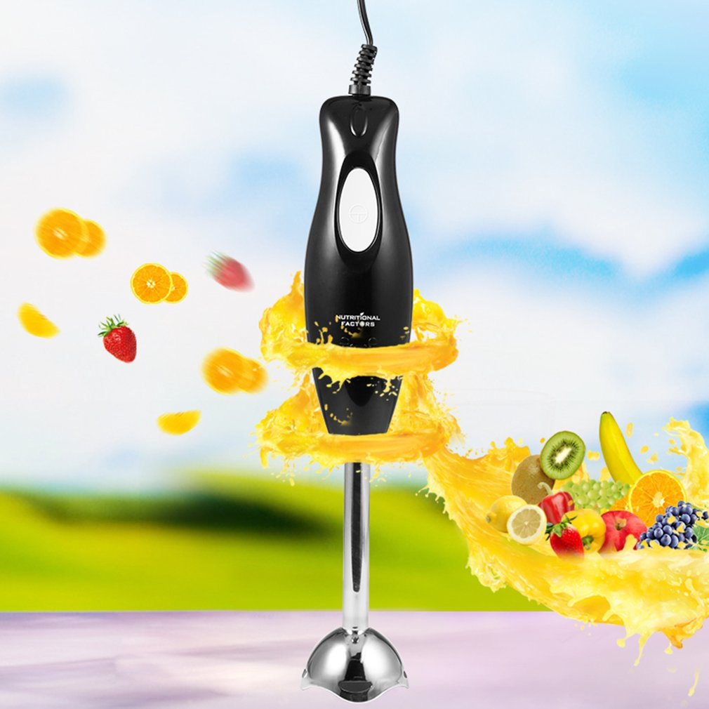 220V 300W Electric Mixer Meat Grinder Mincing Machine Fruit Juicer Household Mixing Blender Hand-held Kitchen Eggs Beater