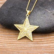 Горячая продажа подвеска в форме звезды ожерелье для женщин