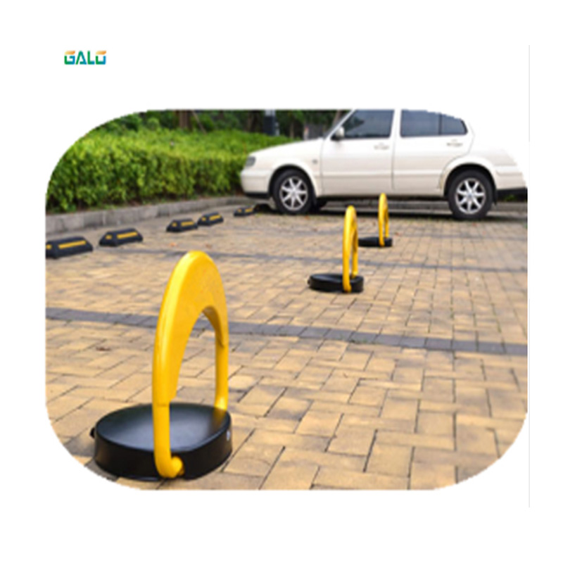 High-end Automatic Parking Guardrail Lock 2 Remote Control No Parking (excluding Battery) Parking Column