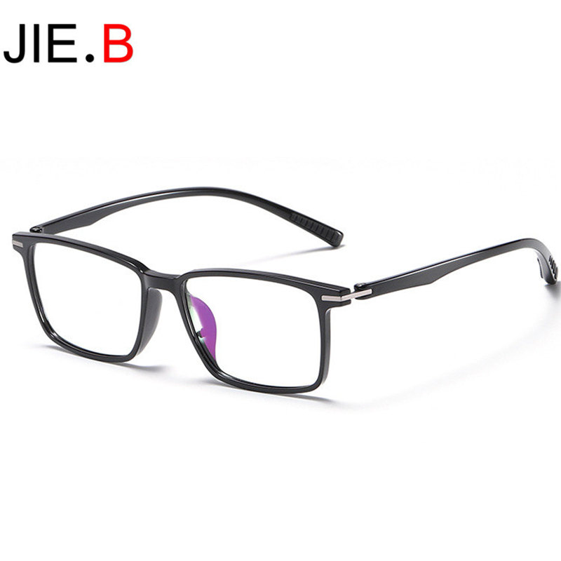 2020 new business men's flat mirror TR90 retro European and American trend glasses frame can be customized myopia