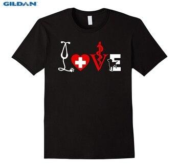 Vet Tech T Shirts Love Animals Veterinarian Technician Men Summer Short Sleeves O-Neck Stylish Chinese Style Print Tee T-Shirts