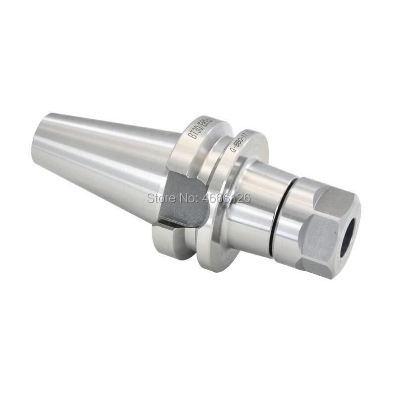 Купить с кэшбэком 1pcs BT30 ER16 ER20 ER25 ER32 60L 70L Tool Holder Precision 0.002mm Spring Chuck Knife Handle CNC Machine Tool Spindle Milling