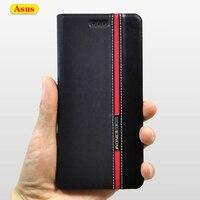 Funda de cuero con tapa para Asus Zenfone ZB601KL ZB602KL ZB555KL ZC554KL ZC520KL ZB633KL ZE520KL ZC520TL ZE552KL