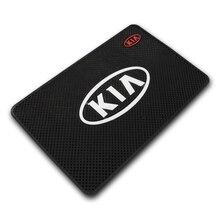 Mata antypoślizgowa akcesoria do wnętrza samochodu stylowy pokrowiec samochodowy dla KIA ceed sportage 2011 sorento 2018 2019 cerato rio 3 4 samochód stylizacji