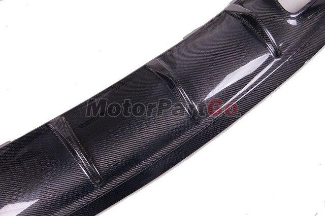 Carbon Fiber Rear Bumper Lip Diffuser For Mercedes Benz Class W117  2016 - 2018  M187 5
