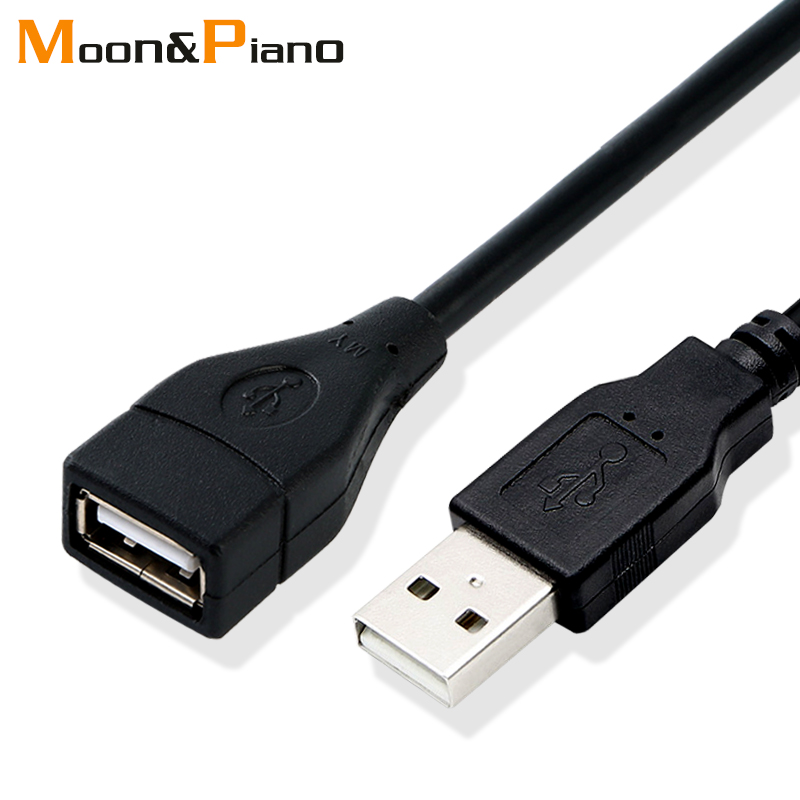 USB 2.0 Cable Extender Cord Wire Data Transmission Cables Super Speed Data Extension Cable For Monitor Projector Mouse Keyboard