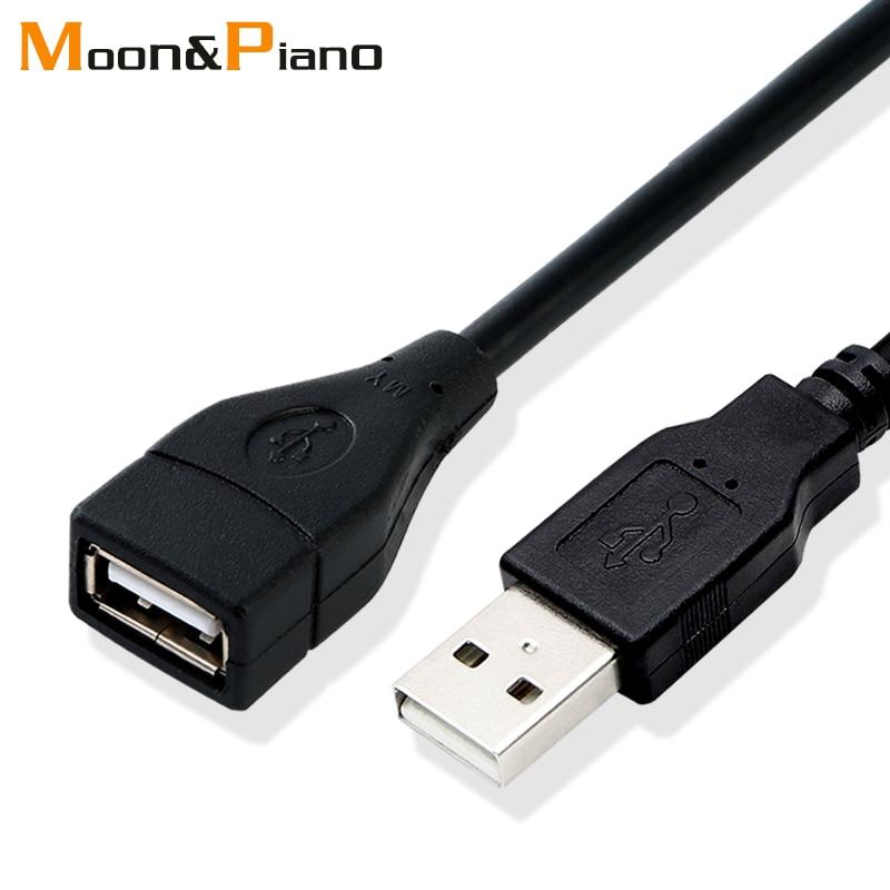 USB 2.0 przedłużacz kabla przewód z drutu kable do transmisji danych, Super Speed kabel przedłużający dane dla projektora monitora klawiatura z myszką