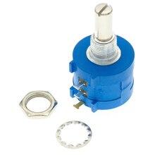 3590S Multiturn Potentiometer 500 1K 2K 5K 10K 20K 50K 100K ohm Potentiometer Adjustable Resistor 3590S-2-102L 202 502 103