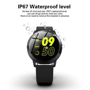 Image 5 - フィットネストラッカースマート腕時計心拍数モニタースポーツ腕時計男性用女性ブレスレット POSHI アンドロイド iOS レロジオ masculino