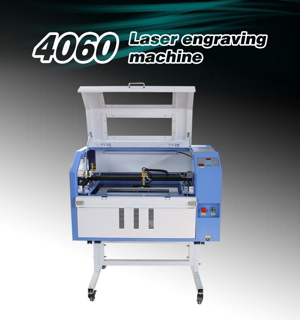 50w 60w 80w 100w Cnc Laser Engraver 4060 Laser Cutting Glass Engraving Machine Price