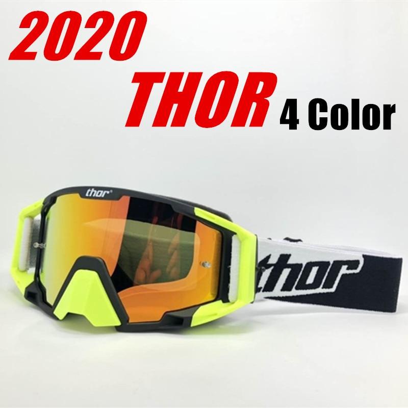 2020 motocross óculos de proteção da bicicleta montanha mx atv mtb óculos de proteção da bicicleta sujeira fora da estrada moto óculos de proteção da motocicleta capacete de vidro