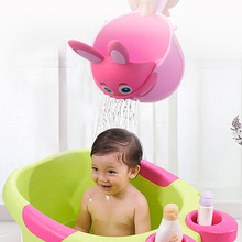 Newborn Child Cartoon Rabbit Bathing Cup Kid Shower Shampoo