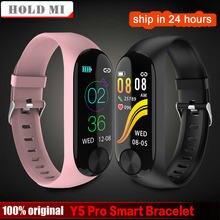 Smart Armband Y5 Pro Herz Rate Schlaf Monitor Blutdruck Fitness Tracker Wasserdicht Sport Android IOS Band