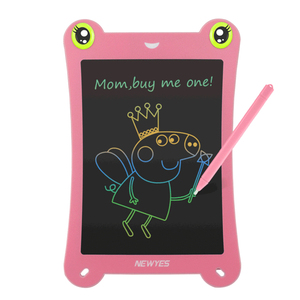 """NEWYES Colors screen LCD Writing Tablet 8.5"""" Drawing Handwriting Pad Message Board Kids Writing Board Educational puzzle(China)"""