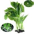Имитация аквариума, мягкая водная трава, аквариумный зеленый пластиковый материал, украшение морских водорослей, растений, шелковая ткань, ...