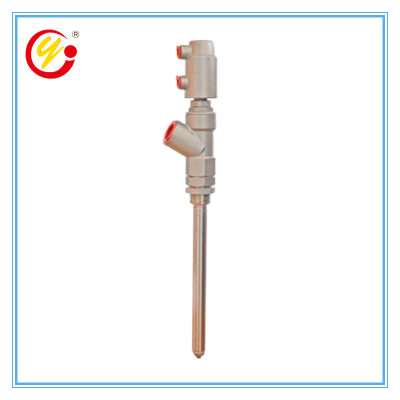 Anti-drip External Sealing Pneumatic Filling Valve DN15 Stainless Steel Long Rod Liquid Filling Head