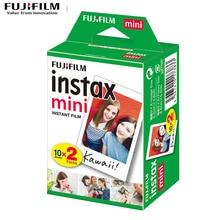 Wide-Film Instant-Camera Fuji 25-Photo-Paper Mini White for 11 20-100-Sheets Edge-3inch