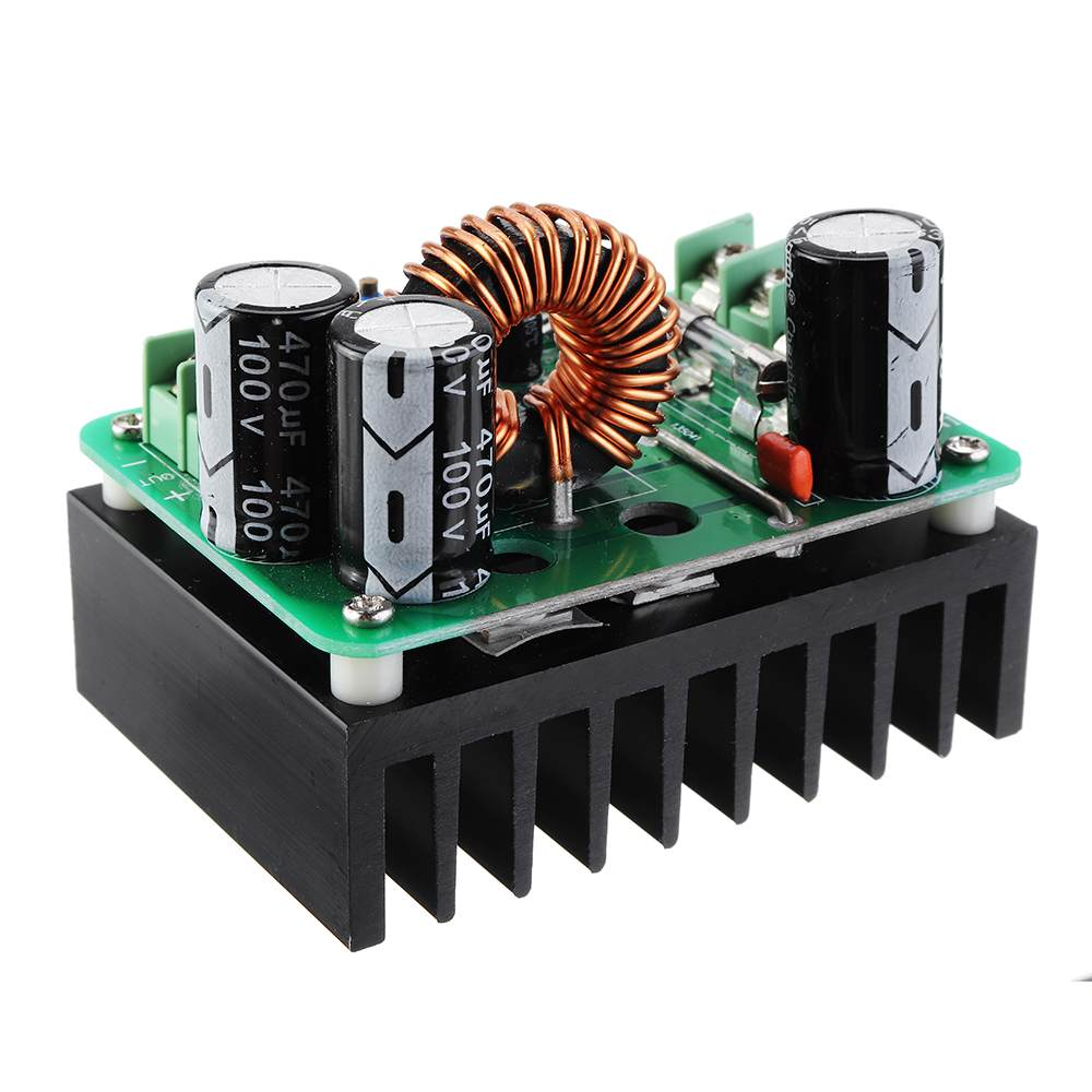 <font><b>DC</b></font>-<font><b>DC</b></font> 10-60V to 12-80V <font><b>600W</b></font> <font><b>10A</b></font> Power Supply Module Boost Converter <font><b>Step</b></font> <font><b>Up</b></font> Voltage Regulator Transformer Adjustable Output image